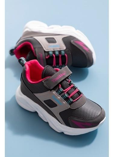 Tonny Black Füme Çocuk Spor Ayakkabı Tbz50 Füme